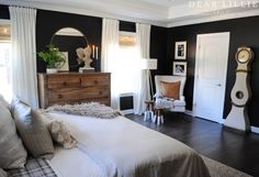 Our Almost Finished Master Bedroom with All Source Information - Dear Lillie Studio House, Interior, Home, Bedroom Makeover, Home Bedroom, Bedroom Inspirations, Interior Design, Bedroom, Master Bedrooms Decor