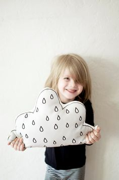 Cloud Cushion by Plumed on Etsy