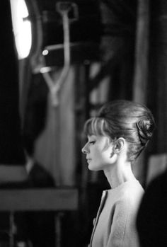 "onthesetwithaudreyhepburn:  ""Paris When It Sizzles (1964)  """