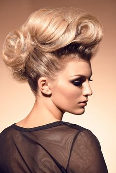 hair look 2: femme mohawk with texture (All For Mary ~ Redefining the salon experience www.allformary.com
