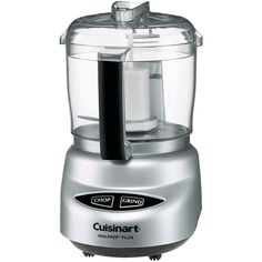 Mini-Prep® Plus Processor Brushed Chrome | Cuisinart #giftguide #apinchoflemon
