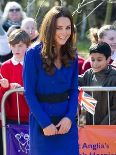 Kate Middleton Recycles Mother's Dress For Her First Public Speech