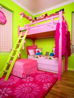 Bathroom, Scenic Adorable Pink And Green Bedroom Designs For Girls Neon Interior Paint Bright Wall Uk Lime: neon green wall paint