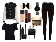 """""""Cold"""" by titi-reina on Polyvore featuring moda, Marc Jacobs, Frame Denim, Myku, MAC Cosmetics, Clarins, NARS Cosmetics y McQ by Alexander McQueen"""