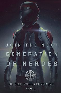 Ender's Game movie poster #beahero
