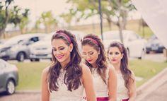 Demoiselles, também conhecidas como damas de honra adultas