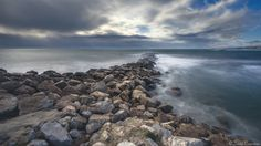 """Breakwater - Day of storm, Palavas, France. You can follow me on <a href=""""https://www.facebook.com/davpare34"""">Facebook</a> <a href=""""https://instagram.com/dav_pare34"""">Instagram</a> <a href=""""http://david-parenteau.com"""">Website</a>"""