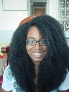 Long 4B-C hair. Hair goal