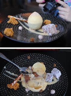 Chocolate, honeycomb, mandarin sphere, cookies and cream - Gastro Park, Kings Cross