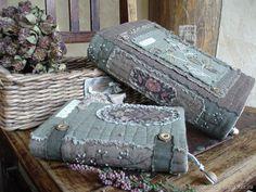 """Купить """"Апрельский сад"""" комплект текстильных обложек - цветы, весна, бохо, коричневый, уют Suitcase, Messenger Bag, Satchel, Journal, Quilts, Sewing, Bags, Satchel Purse, Purses"""
