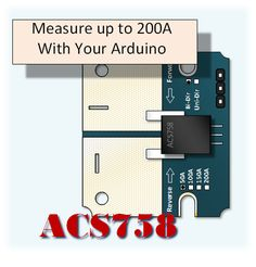 Measuring Higher Current with your Arduino The Allegro AC758 allows for high current measurements.  Coupled with the isolation benefits of a hall sensor,  the power supply requirements and output v…