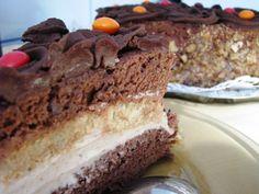 Tort cu crema de castane si ciocolata