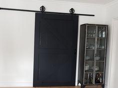 Homemade barndoor Tall Cabinet Storage, Homemade, Furniture, Home Decor, Home Made, Diy Crafts, Interior Design, Home Interior Design, Do It Yourself