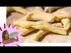 Strozzapreti Fatti in Casa - Pasta Fresca Senza Uova - YouTube
