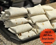 Copy Cat Chili Cheese Freezer Burritos