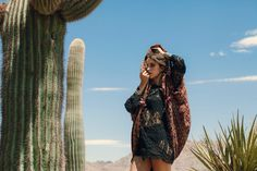 CULT FIVE X FIVE: Gypset Adventures in Joshua Tree with Free People - HMU: Heather Rae Cheszek | Model: Lexi Stellwood | Photo: Robby Mueller for Cult Collective