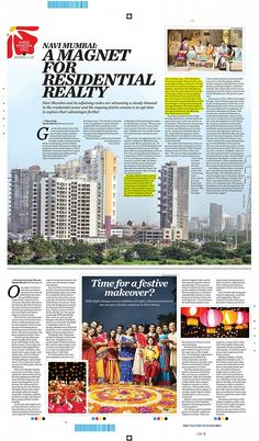 Navi Mumbai is one of the favorites when it comes real estate investment or for people looking to buy their homes. There is a steady increase in demand for properties even in the adjoining areas and the festive season has added more flare to it.