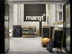 Impossible to not visit and shop in Marqt, the so well-designed supermarket chain / identity is really well done and interiors  Reminded me Gourmet Garage in NYC.