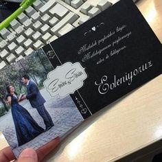 Emine&Sinan çiftinin davetiyesi çok şık olmuş gerçekten Ömür boyu mutluluklar diliyoruz   Davetiye modellerimizi görmek için  https://www.sevgilikitabi.com/davetiye-tasarla