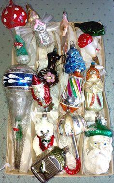 in-stijl.com   Nostalgische Kerstfeest - Kerstboom decoratie #A00608