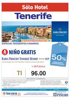 Tenerife - Sólo Hotel Residentes 50% H. Bahía Príncipe Tenerife Resort - Febrero ultimo minuto - http://zocotours.com/tenerife-solo-hotel-residentes-50-h-bahia-principe-tenerife-resort-febrero-ultimo-minuto/