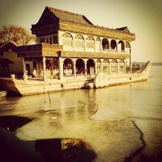 The Summer Palace in winter, Beijing, China -- Photo by Tora Chung
