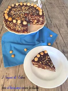 Torta al bacio senza cottura facilissima - I Sapori di Ethra No Cook Desserts, Sweet Desserts, Sweet Recipes, Delicious Desserts, Cake Recipes, Dessert Recipes, Torta Twix, Cooking Cake, Cooking Recipes