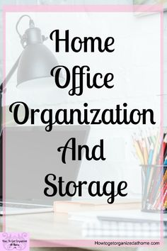 Are you looking for simple home office organization tips? These simple and easy tips will help you take control of your home office and make it a place that you will love! Office Organization At Work, Home Office Organization, Paper Organization, Home Office Decor, Office Ideas, Organizing Tips, Clutter Organization, Organising, Cleaning Tips