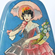 Adorable Horner Sweets Metal Tin 1950's by StarfishCollectibles, $15.00