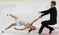 Canada's Brittany Jones and Joshua Reagan, Pairs free at U.S. International Classic 2014, Pairs costume inspiration for Sk8 Gr8 Designs