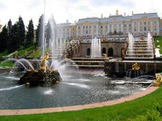 f511cb9d4f9 Palace of Peter the Great, Peterhof, Russia