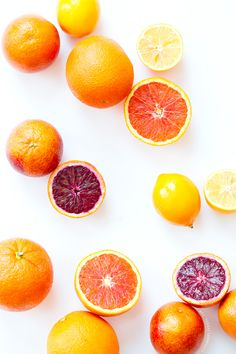 Winter Citrus wallpaper from Love & Olive Oil