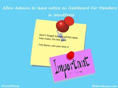 How To Add Dashboard Notices for Multi Authors in WordPress Programming, Authors, Don't Forget, How To Make Money, Wordpress, Tutorials, Messages, Ads