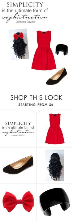 """Be Simple, but Sophisticated."" by abbybeaumont ❤ liked on Polyvore featuring Charlotte Russe"