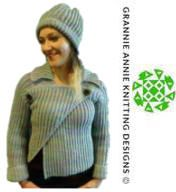Crop Jacket and Hat knitting pattern