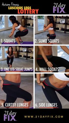 21 Day Fix workouts! Check out this killer lower booty workout!