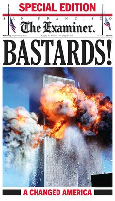 Editorial? Yes. Accurate? Also yes. To me the most unfogettable newspaper front page from the most unforgettable newspaper front of my lifetime. For me, it was a catharsis.