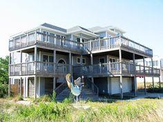 Sandbridge Beach - Semi Oceanfront Vacation Home / Siebert Realty / Virginia Beach, VA  - Mer-majesty -- 3121 Sandfiddler Road