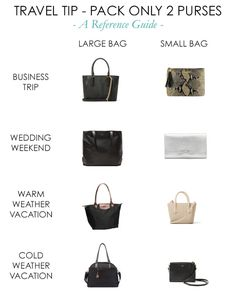 2 Purses Per Trip - ideas for that bag I need to replace