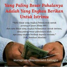 hayok pak riadh... kasih yg banyak ya... Reminder Quotes, Self Reminder, Wife Quotes, Family Quotes, Qoutes, Islamic Inspirational Quotes, Islamic Quotes, Cinta Quotes, Allah Islam