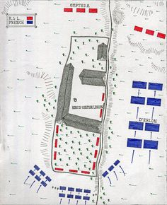 Map of La Haye Sainte Farm at the Battle of Waterloo on June map by John Fawkes Napoleon Waterloo, Waterloo Map, Battle Of Waterloo, Military Tactics, Military Art, Military History, Waterloo Battlefield, American Revolution Battles, Napoleon French