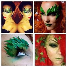 Doll yourself up as one of DC Comics's most loved villainesses. This costume works especially well for those of you with red hair. There are multiple ways to go about this look, too. You can paint your leaves on, fashion them out of cardstock paper, or simply gather some leaves from a tree for an au naturale take. Source: Instagram user glamourghostofficial
