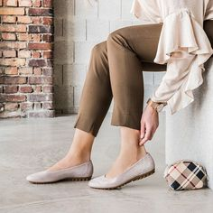 Stilvoller Ballerina in Cachemire mit weichem Lederbett von Paul Green - Rutschfeste Sohle erzeugt hohen Trage- und Laufkomfort - Stöbern Sie jetzt!