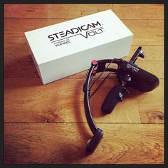 I love #Kickstarter... Unpacked my #SteadicamVolt by #TiffenCompany today! Ill upload my first attempt tomorrow... ;-) Thnx @Tiffentweets... :-) #myview #mystyle #SVVK