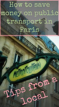 Check out this comprehensive and easy readable list of how to save money on your trip to Paris. Written by a local knowing all the ins and outs and fastest ways to get around the city of love. Save your money for the macarons, delicious pastries and museum entrances and have a blast!