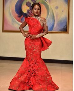 9f6f95e4461f2 HOST OF #VGMA2018 BERLA ADDARDEY SLAYS IN THREE HEAD-TURNING DRESSES  African Outfits,