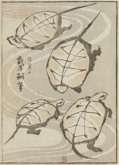 inland-delta: Katsushika Hokusai, illustration from Album of Drawing with one Stroke of the Brush, 1823 Japanese Art Modern, Japanese Drawings, Japanese Prints, Japan Painting, Painting & Drawing, Art Occidental, Katsushika Hokusai, Tinta China, Japan Art