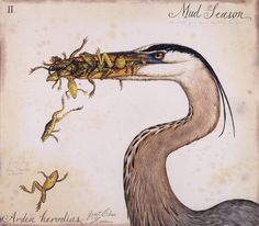 Mud Season by Walton Ford (poor froggies)...