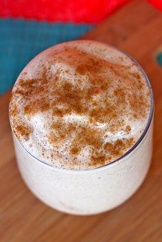 Coconut Vanilla Chai Milkshake.