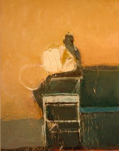 Harry Paul Ally - Seated Figure with Shape - oil on canvas Abstract Painters, Abstract Art, Call Art, Portraits, Figure Painting, Figure Drawing, People Art, Fine Art Gallery, Contemporary Paintings